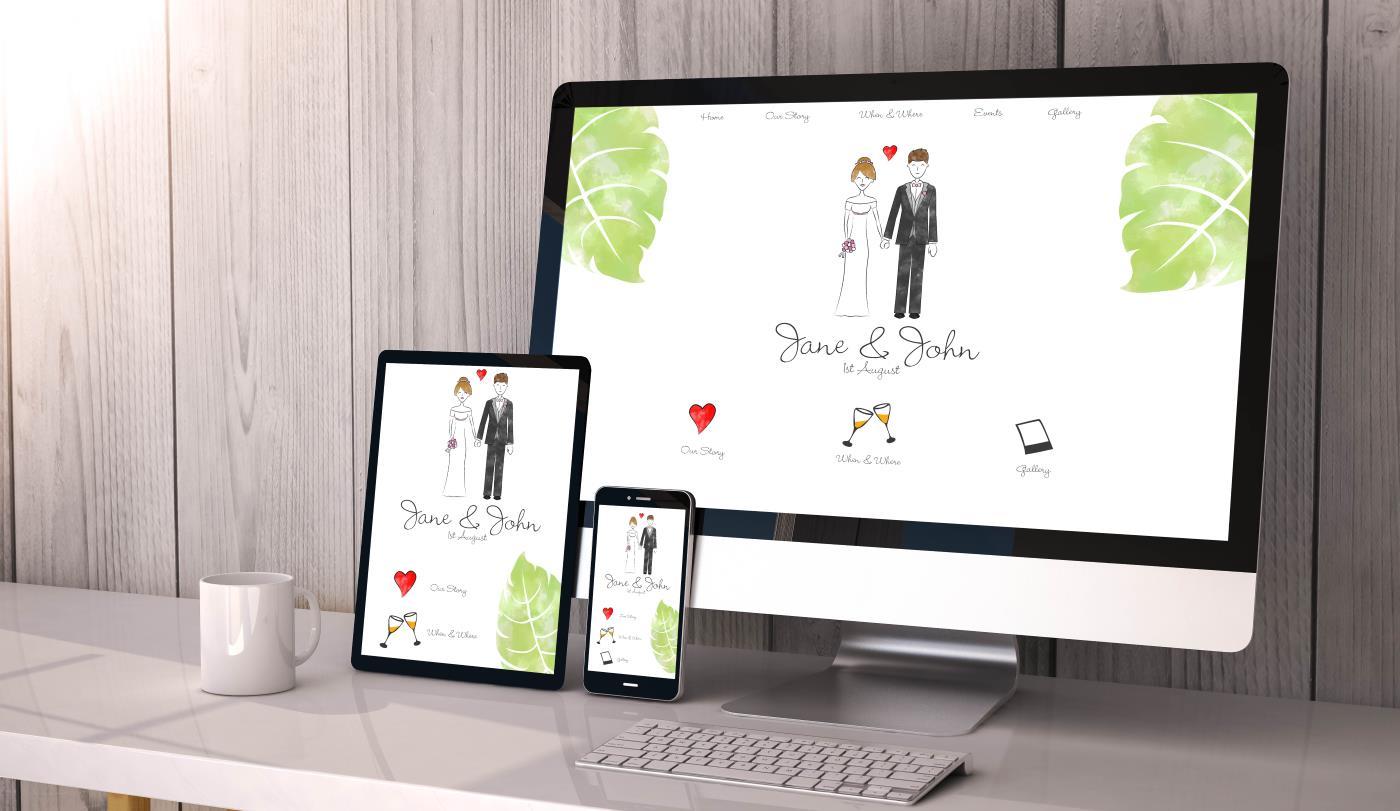 Personalised Wedding Websites