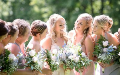 Maid of Honor, Bridesmaids and Flower Girls